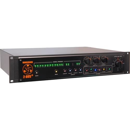 Dangerous Music 2-BUS+ 16-Channel Analog Summing Mixer