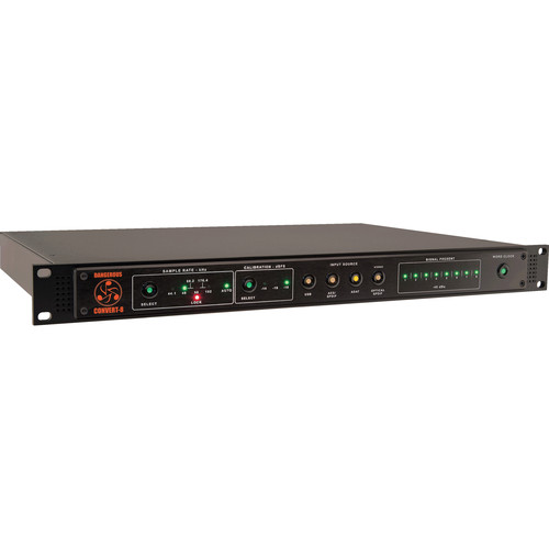 Dangerous Music CONVERT-8 - Eight-Channel Reference Grade Digital to Analog Converter