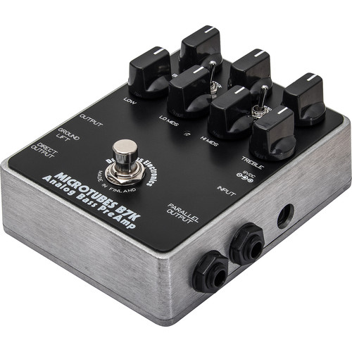 Darkglass Electronics Microtubes B7K Analog Bass Preamp Pedal with Overdrive