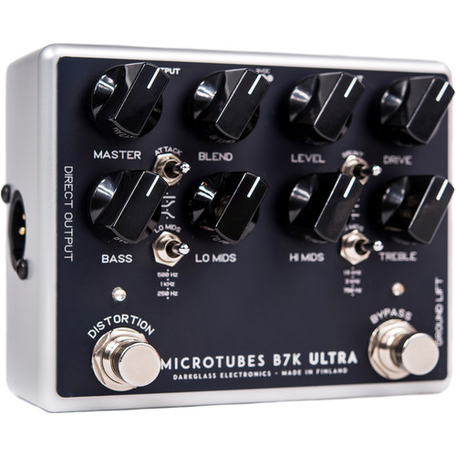 Darkglass Electronics Microtubes B7K Ultra Analog Bass Preamp Pedal with Overdrive