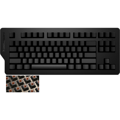 Das Keyboard 4C Ultimate Mechanical Keyboard (No Key Inscriptions, Soft Switches)