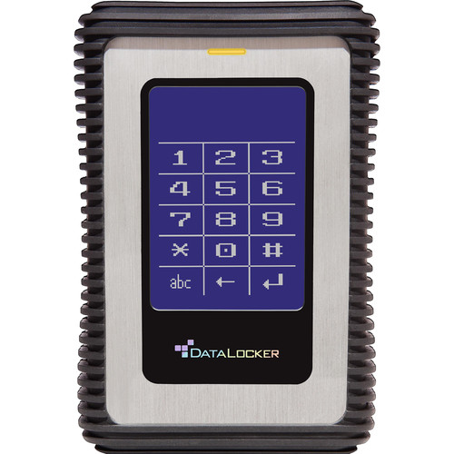 Data Locker 2TB DL3 Encrypted External USB 3.0 Hard Drive with 2-Factor Authentication