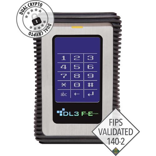 Data Locker 2TB DL3 FE Encrypted External USB 3.0 Hard Drive (FIPS Edition)