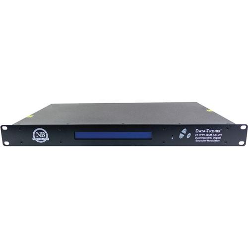 Data-Tronix 2-Input IPTV Encoder Modulator (1 RU)