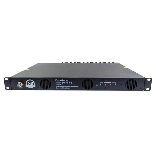 Data-Tronix 4-Input IPTV Encoder Modulator (1 RU)