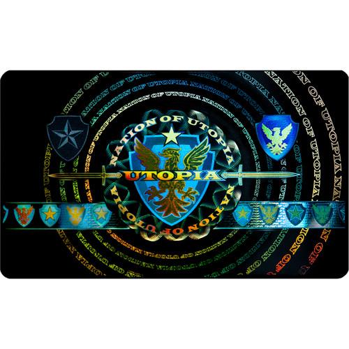 DATACARD DuraGard 1.0 mil Security Laminate with Optigram Ver.1 Holograph for SP75 & SP75Plus Card Printers (Full Card, 300 Prints)