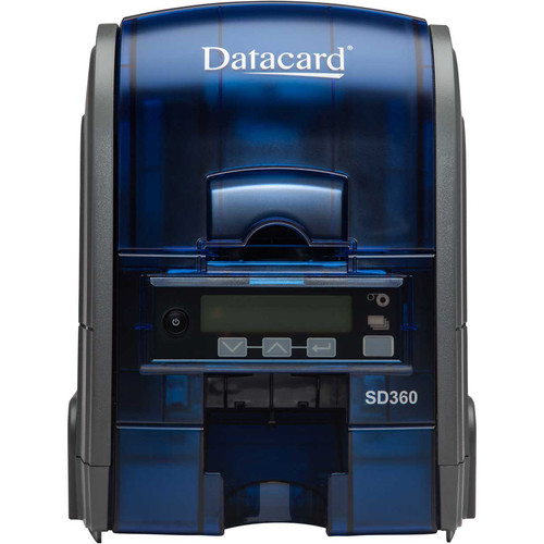DATACARD SD360 Dual-Sided ID Card Printer with ISO Magnetic Stripe & DUALi Smart Card Encoders