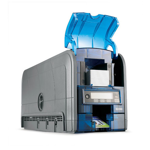 DATACARD SD360 Dual-Sided ID Card Printer with ISO Magnetic Stripe & DUALi Smart Card Encoder