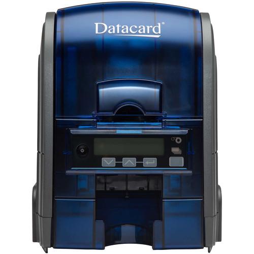DATACARD SD160 Single-Sided Card Printer with JIS Type II Single-Track Magnetic Stripe Encoder