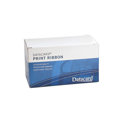DATACARD Graphics Monochrome Ribbon Kit for Select SD Printers (Certified for Food Contact, White)