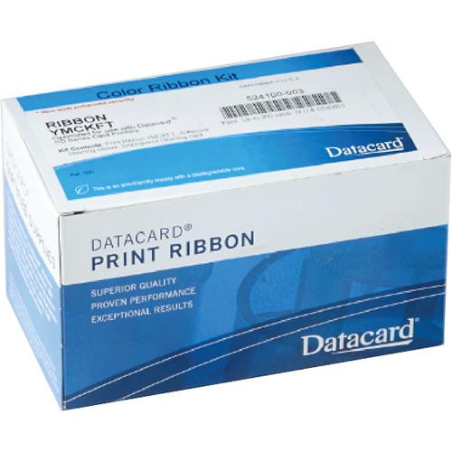 DATACARD Color Ribbon for SP75/SP75-Plus Printer (300 Prints, YMCKF-KT)