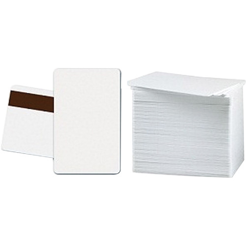 DATACARD 803229-024 CR-80 White PVC Graphics Cards with LoCo Magnetic Stripe (500-Pack)