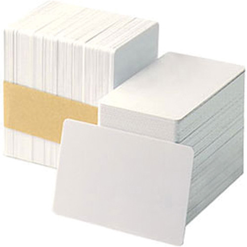 DATACARD 803094-025 CR-80 White PVC Composite Cards (500-Pack)