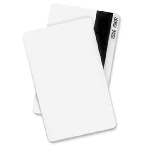 DATACARD 803229-036 CR-80 White PVC Composite Cards with HiCo Magnetic Stripe (500-Pack)
