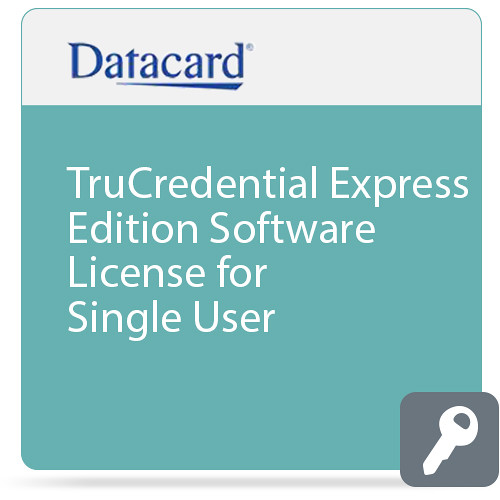 DATACARD TruCredential Express Edition Software License for Single User