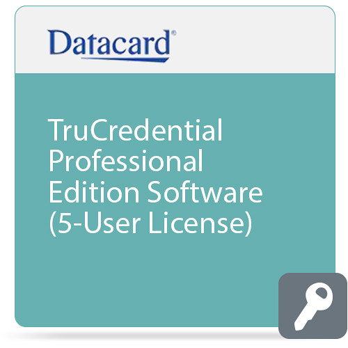 DATACARD TruCredential Professional Edition Software (5-User License)