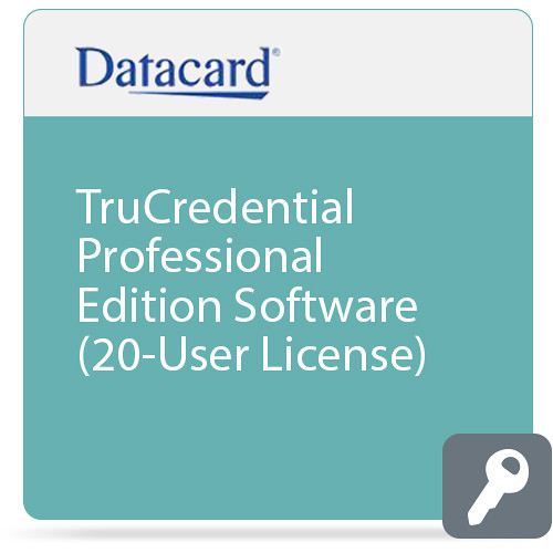 DATACARD TruCredential Professional Edition Software (20-User License)