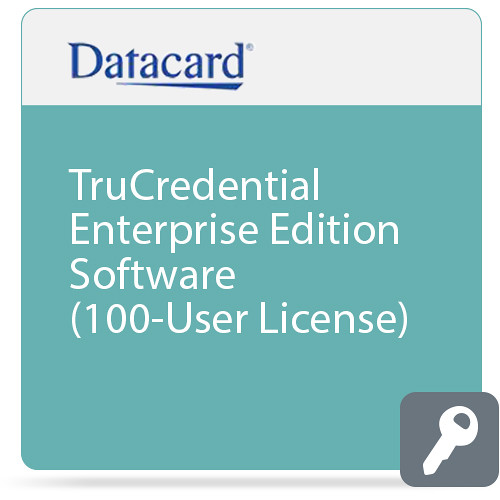 DATACARD TruCredential Enterprise Edition Software (100-User License)