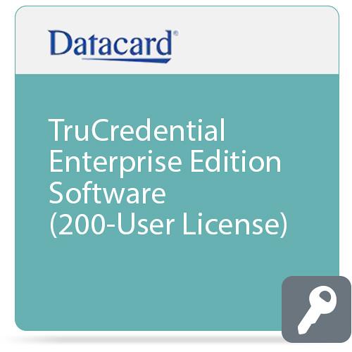 DATACARD TruCredential Enterprise Edition Software (200-User License)