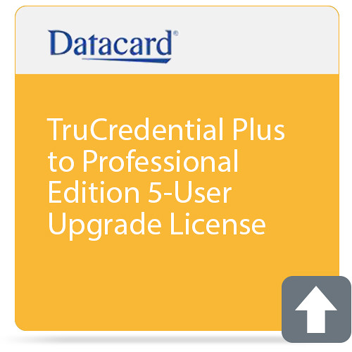 DATACARD TruCredential Plus to Professional Edition 5-User Upgrade License