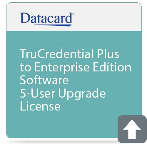 Entrust TruCredential Plus to Enterprise Edition Software 5-User Upgrade License