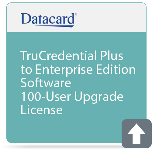 DATACARD TruCredential Plus to Enterprise Edition Software 100-User Upgrade License