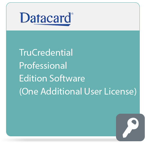 DATACARD TruCredential Professional Edition Software (One Additional User License)