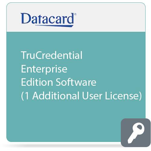 DATACARD TruCredential Enterprise Edition Software (1 Additional User License)