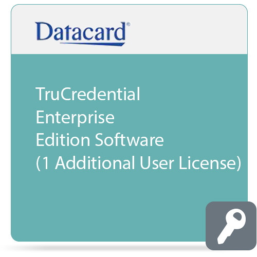 DATACARD TruCredential Enterprise Edition Software (1 Additional User License)