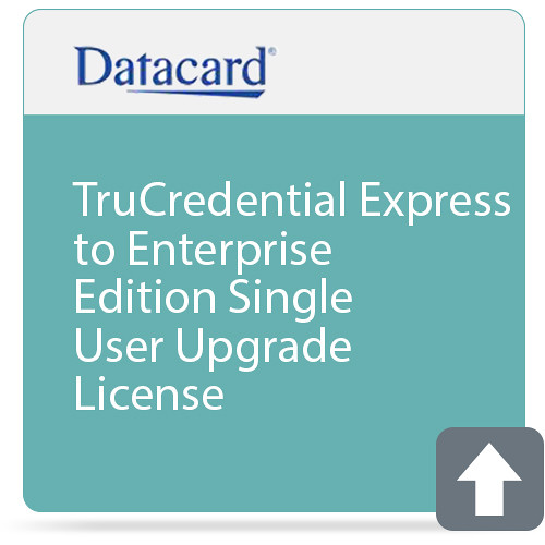 DATACARD TruCredential Express to Enterprise Edition Single User Upgrade License