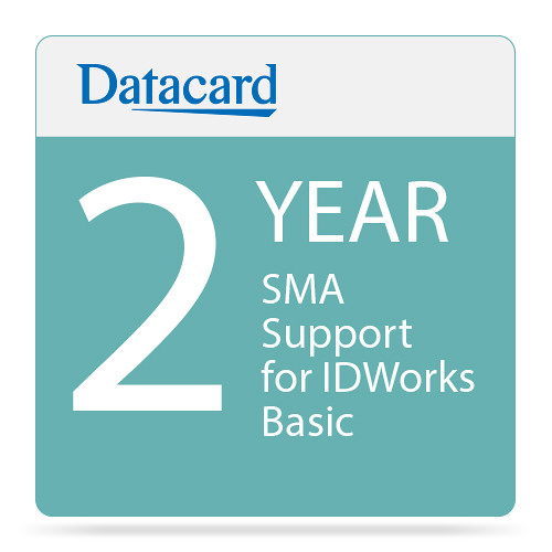 DATACARD SMA 2-Year Support for IDWorks Basic