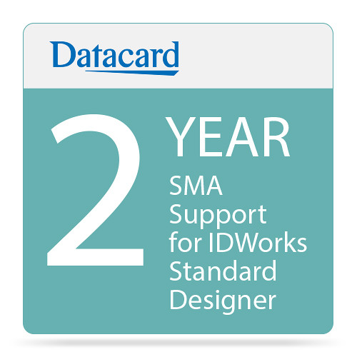 DATACARD SMA 2-Year Support for IDWorks Standard Designer
