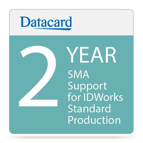 DATACARD SMA 2-Year Support for IDWorks Standard Production