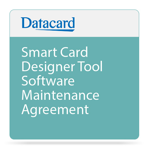 DATACARD Smart Card Designer Tool Software Maintenance Agreement