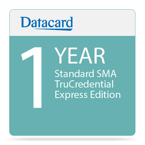 DATACARD Standard 1-Year SMA TruCredential Express Edition