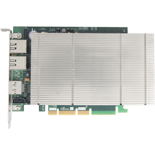 DATAPATH Multi-Channel SQX IP Dedicated Decoding Card with Two RJ45 Ethernet Ports