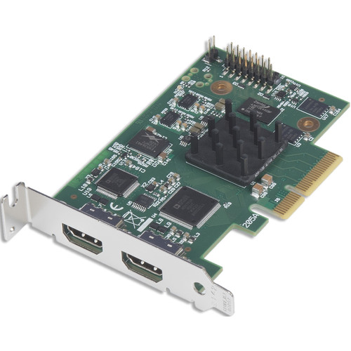 DATAPATH VisionLC-HD2 Dual-Channel LiveStream HDMI Video & Audio Capture Card