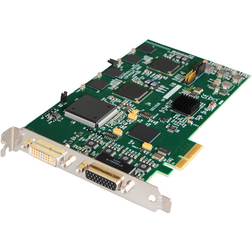 DATAPATH VisionSD4+1S RGB/DVI/HD and SD Video Capture Card (PCI Express)