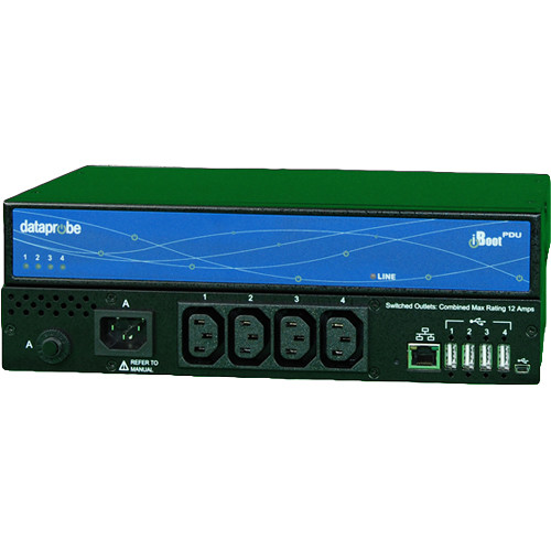Dataprobe iBoot-PDU4-N15 4-Outlet Switched PDU (NEMA, 15A)