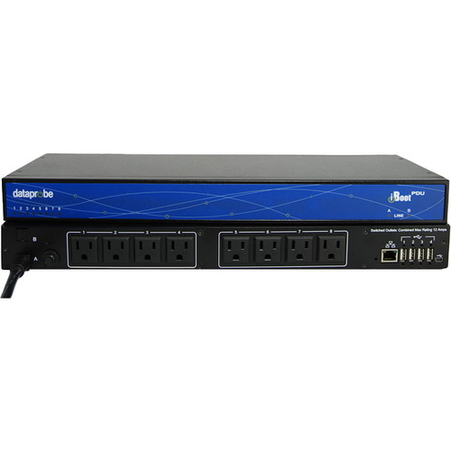 Dataprobe iBoot-PDU8-N15 8-Outlet Switched PDU (NEMA, 15A)