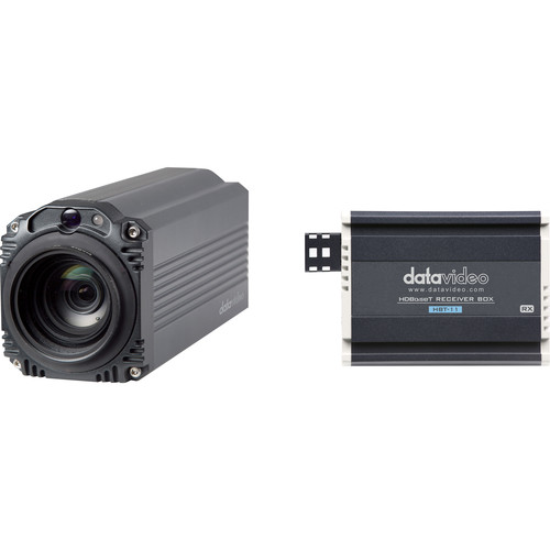 Datavideo 4K HDBaseT Block Camera with 3.9 to 46.8mm Focal Length