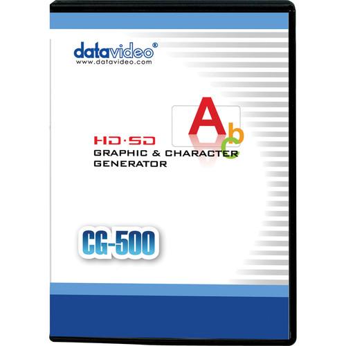 Datavideo CG-500 HD/SD Character Generator Software