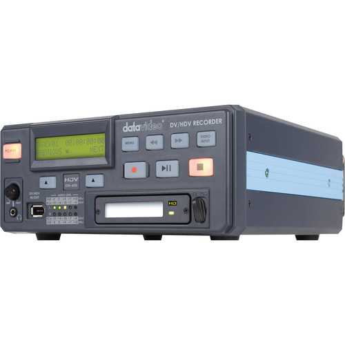 Datavideo DN-600 Hard Disk Drive Desktop DV / HDV / Analogue Video Recorder