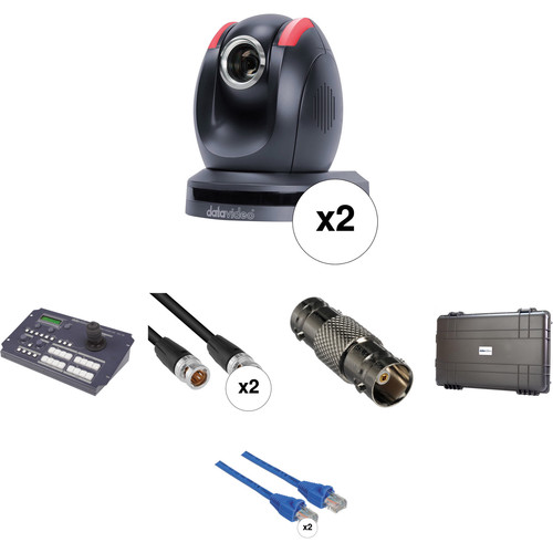 Datavideo Dual PTZ Camera Go Kit
