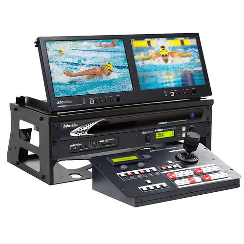 Datavideo 2-Camera 8-Shot Portable Video Production Studio Bundle