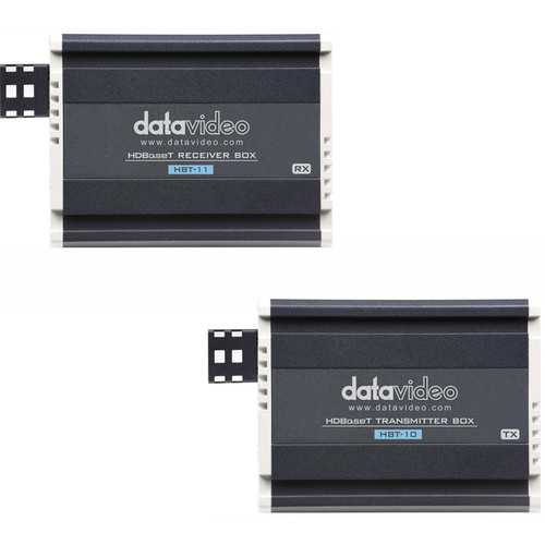 Datavideo HBT-10 HDBaseT Transmitter & HBT-11 HDBaseT Receiver HDMI Extender Kit