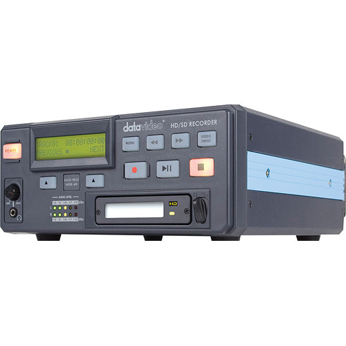 Datavideo HDR-60 HDD Recorder for SD/HD-SDI with Removable Drive Bay