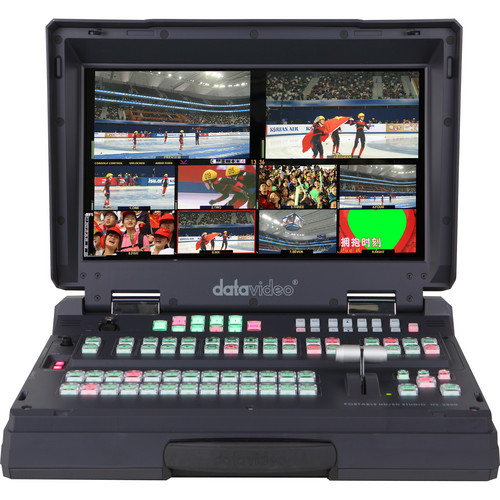 Datavideo HS-2800 Hand-Carried HD/SD Mobile Studio (8-Channel)