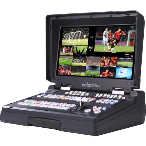 "Datavideo 12-Input HD-SDI And HDMI Hand Carried Mobile Studio With Built-In 17.3""LCD Monitor & 8 Channel In"