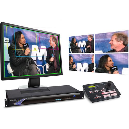 Datavideo KMU-100C 4K Multicamera Processor and Controller Kit